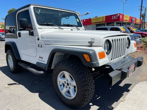 2006 Jeep Wrangler for sale at CARCO SALES & FINANCE #3 in Chula Vista CA
