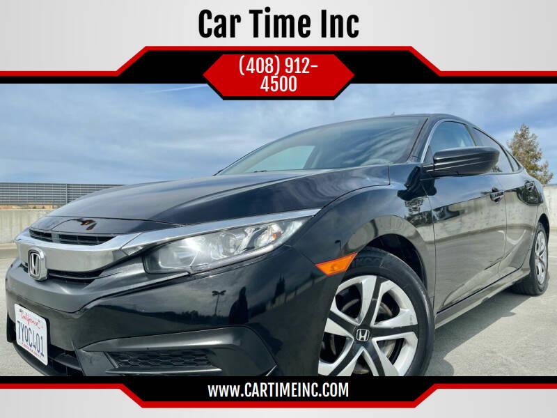 2017 Honda Civic for sale at Car Time Inc in San Jose CA