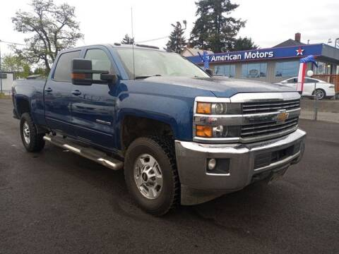 2018 Chevrolet Silverado 2500HD for sale at All American Motors in Tacoma WA