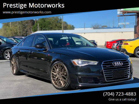 2016 Audi A6 for sale at Prestige Motorworks in Concord NC