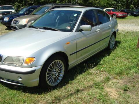 2002 BMW 3 Series for sale at Branch Avenue Auto Auction in Clinton MD