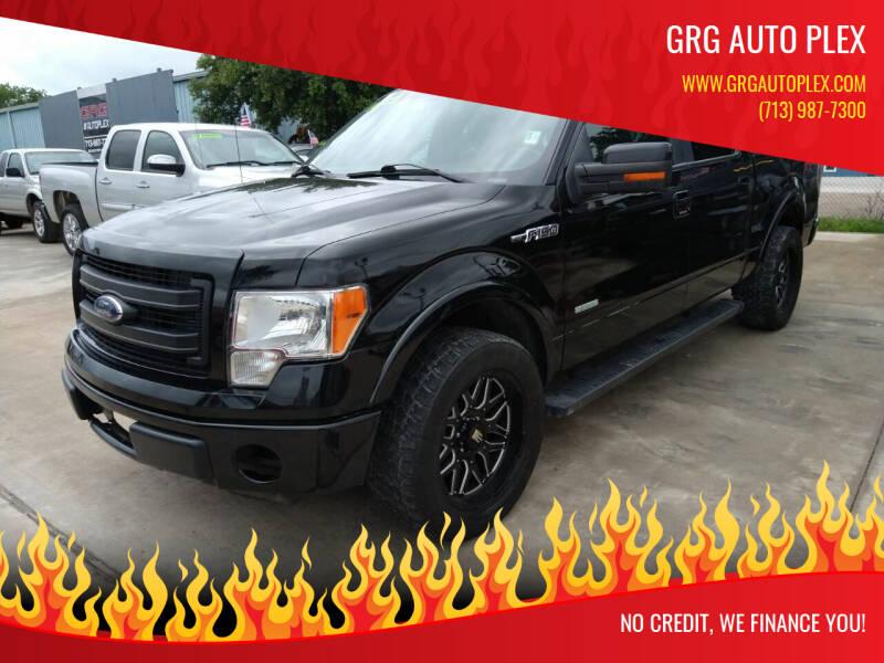 2014 Ford F-150 for sale at GRG Auto Plex in Houston TX