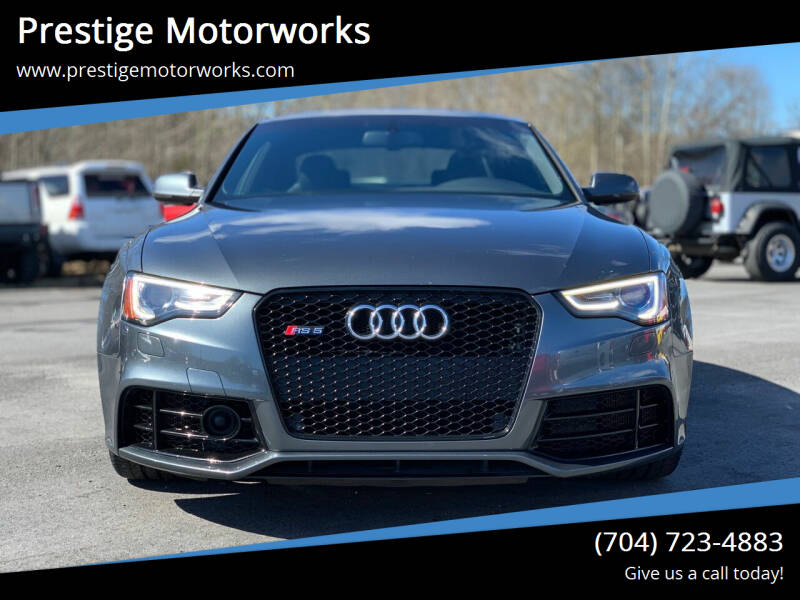 2014 Audi RS 5 for sale at Prestige Motorworks in Concord NC