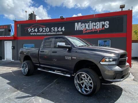 2015 RAM Ram Pickup 1500 for sale at Maxicars Auto Sales in West Park FL
