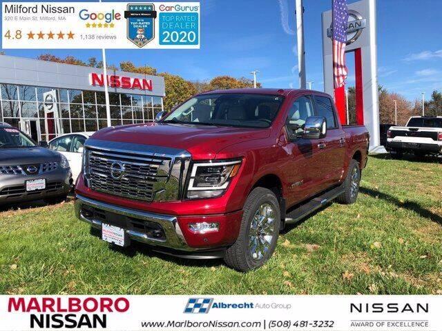 2021 Nissan Titan for sale in Marlborough, MA