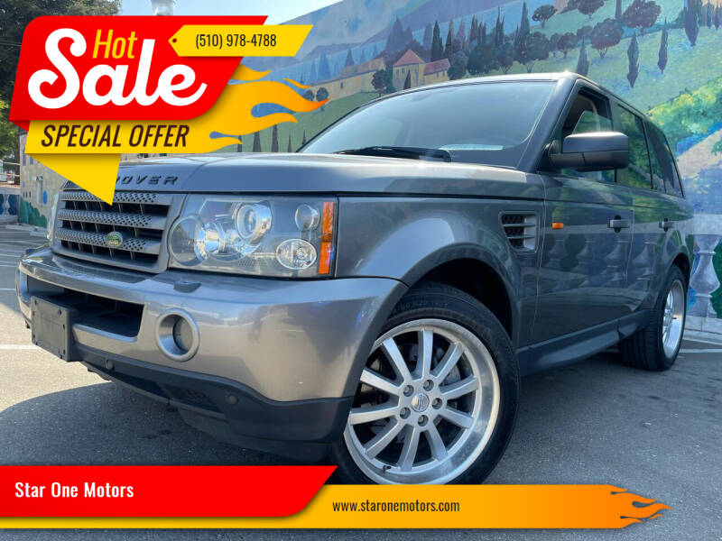 2008 Land Rover Range Rover Sport for sale at Star One Motors in Hayward CA