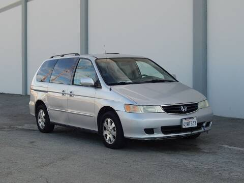 2002 Honda Odyssey for sale at Gilroy Motorsports in Gilroy CA