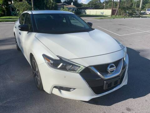 2017 Nissan Maxima for sale at Consumer Auto Credit in Tampa FL