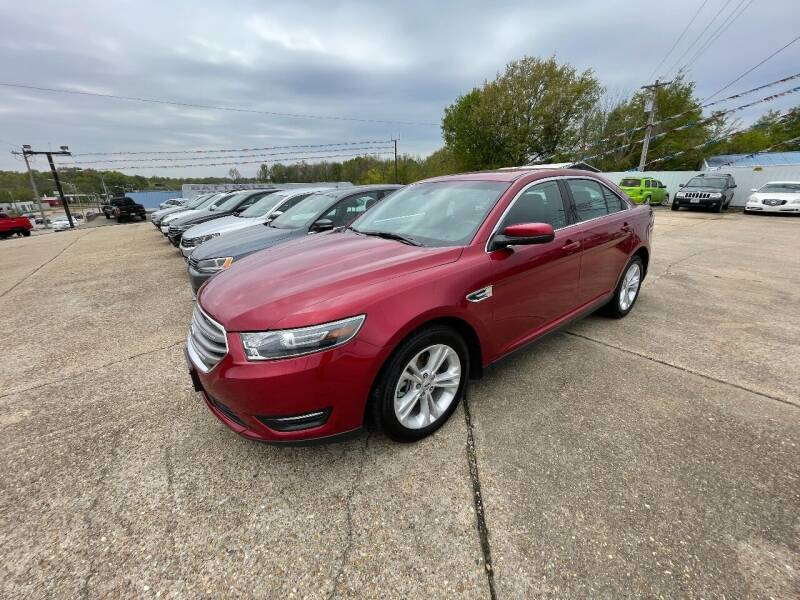 2016 Ford Taurus for sale at Greg's Auto Sales in Poplar Bluff MO