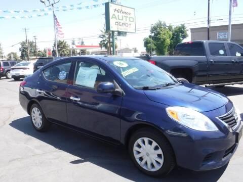 2014 Nissan Versa for sale at HILMAR AUTO DEPOT INC. in Hilmar CA