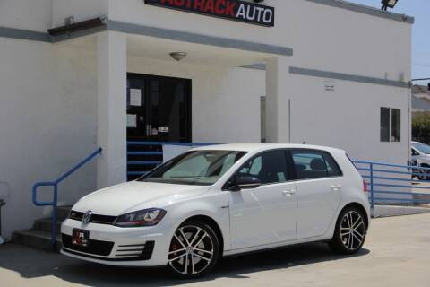 2017 Volkswagen Golf GTI for sale at Fastrack Auto Inc in Rosemead CA