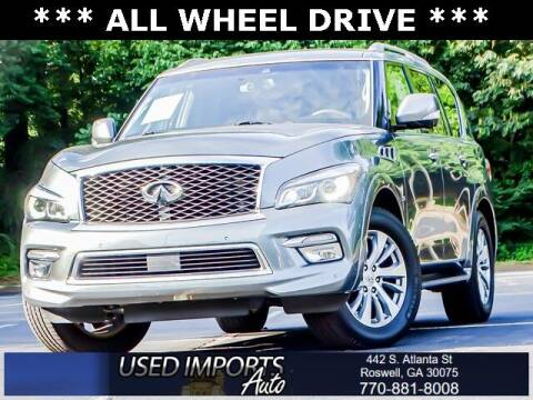 2017 Infiniti QX80 for sale at Used Imports Auto in Roswell GA