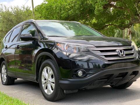 2012 Honda CR-V for sale at HIGH PERFORMANCE MOTORS in Hollywood FL