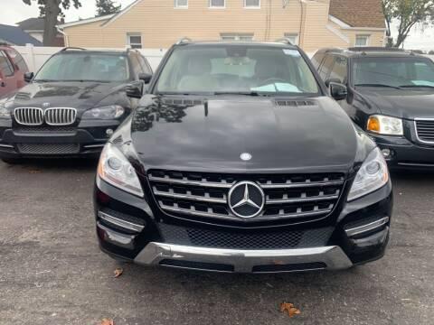 2014 Mercedes-Benz M-Class for sale at Park Avenue Auto Lot Inc in Linden NJ