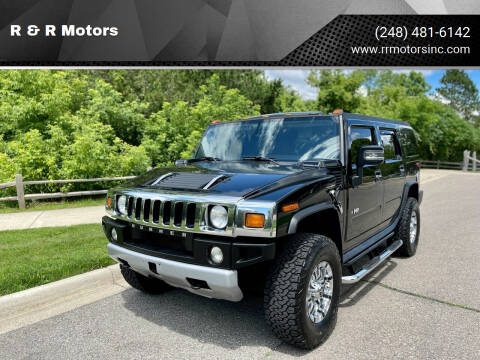 2008 HUMMER H2 for sale at R & R Motors in Waterford MI