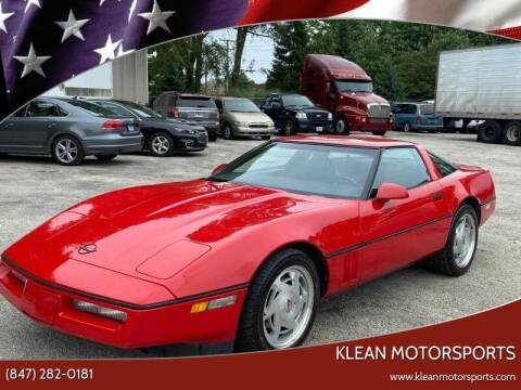 1988 Chevrolet Corvette for sale at Klean Motorsports in Skokie IL