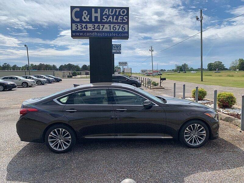 2017 Genesis G80 for sale at C & H AUTO SALES WITH RICARDO ZAMORA in Daleville AL