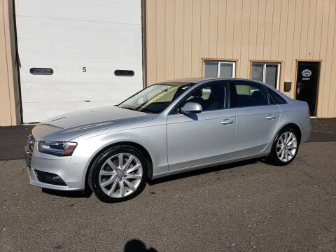 2013 Audi A4 for sale at Massirio Enterprises in Middletown CT