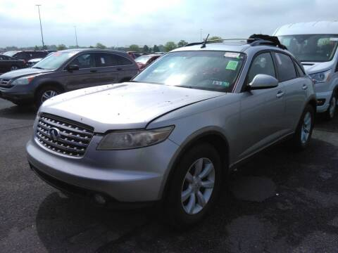2005 Infiniti FX35 for sale at MOUNT EDEN MOTORS INC in Bronx NY