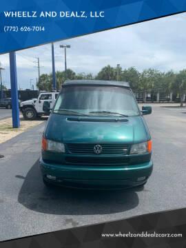 2002 Volkswagen EuroVan for sale at WHEELZ AND DEALZ, LLC in Fort Pierce FL
