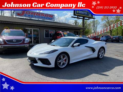 2020 Chevrolet Corvette for sale at Johnson Car Company llc in Crown Point IN