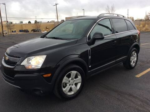 2013 Chevrolet Captiva Sport for sale at AROUND THE WORLD AUTO SALES in Denver CO