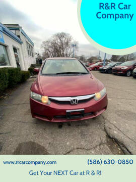 2009 Honda Civic for sale at R&R Car Company in Mount Clemens MI