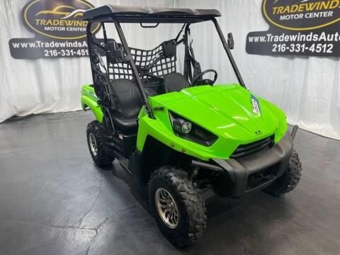2012 Kawasaki KRF-750-L for sale at TRADEWINDS MOTOR CENTER LLC in Cleveland OH