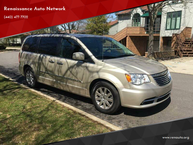 2016 Chrysler Town and Country for sale at Renaissance Auto Network in Warrensville Heights OH