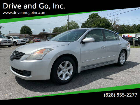 2008 Nissan Altima for sale at Drive and Go, Inc. in Hickory NC