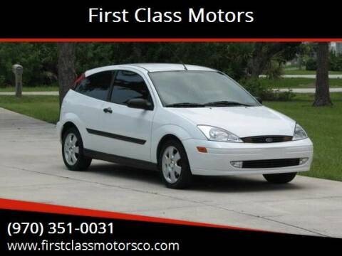 2001 Ford Focus for sale at First Class Motors in Greeley CO