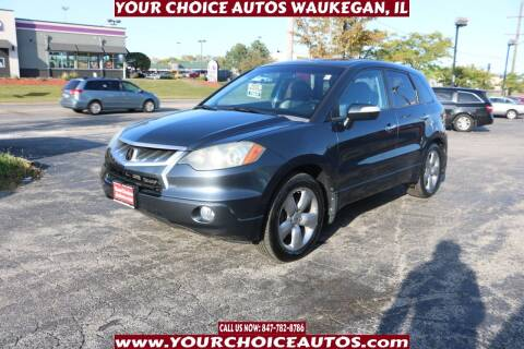 2007 Acura RDX for sale at Your Choice Autos - Waukegan in Waukegan IL