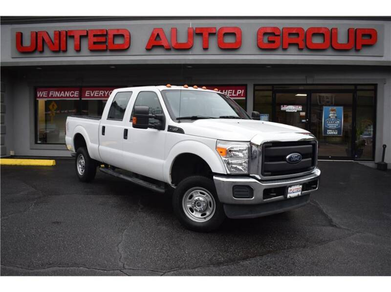 2016 Ford F-250 Super Duty for sale at United Auto Group in Putnam CT