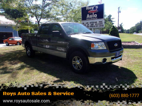 2006 Ford F-150 for sale at Roys Auto Sales & Service in Hudson NH