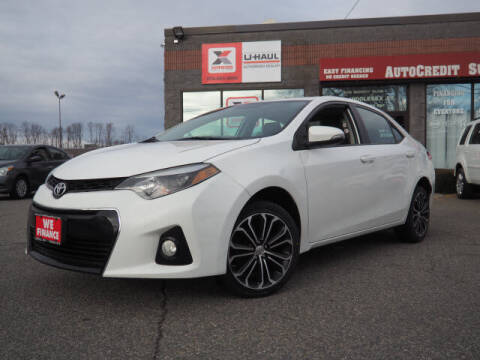 2014 Toyota Corolla for sale at AutoCredit SuperStore in Lowell MA