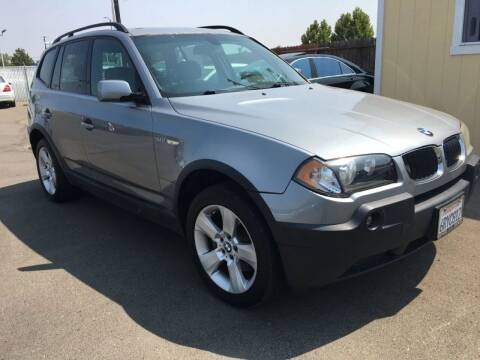 2004 BMW X3 for sale at Dealer Finance Auto Center LLC in Sacramento CA