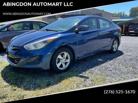 2015 Hyundai Elantra for sale at ABINGDON AUTOMART LLC in Abingdon VA