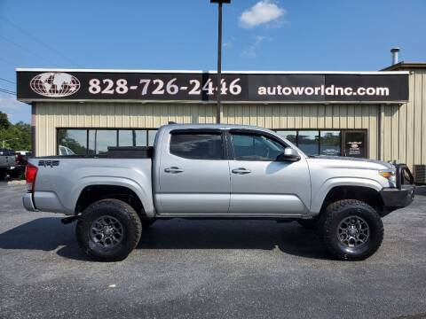 2016 Toyota Tacoma for sale at AutoWorld of Lenoir in Lenoir NC