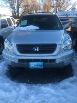 2004 Honda Pilot for sale at Martinez Cars, Inc. in Lakewood CO