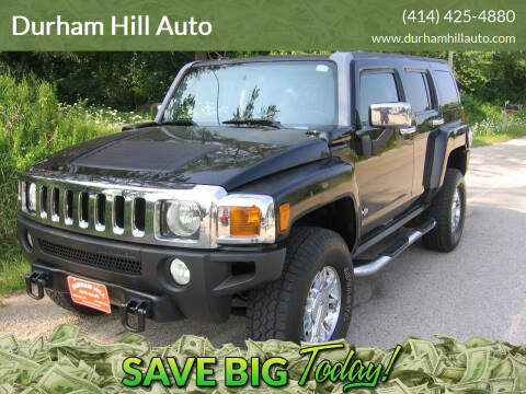 2007 HUMMER H3 for sale at Durham Hill Auto in Muskego WI