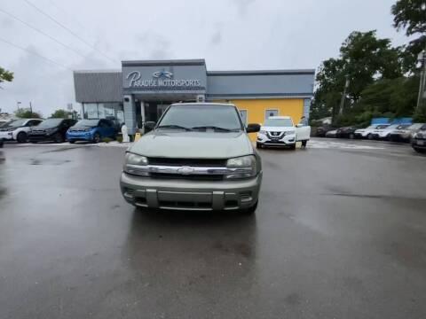 2004 Chevrolet TrailBlazer for sale at Paradise Motor Sports LLC in Lexington KY