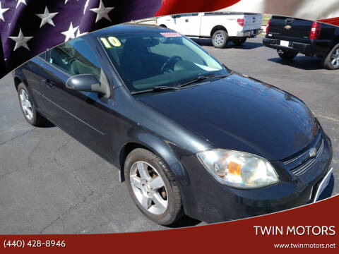 2010 Chevrolet Cobalt for sale at TWIN MOTORS in Madison OH