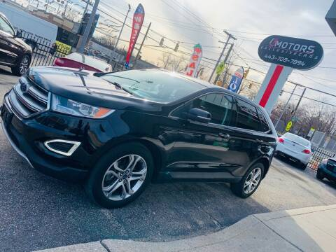 2016 Ford Edge for sale at i3Motors in Baltimore MD