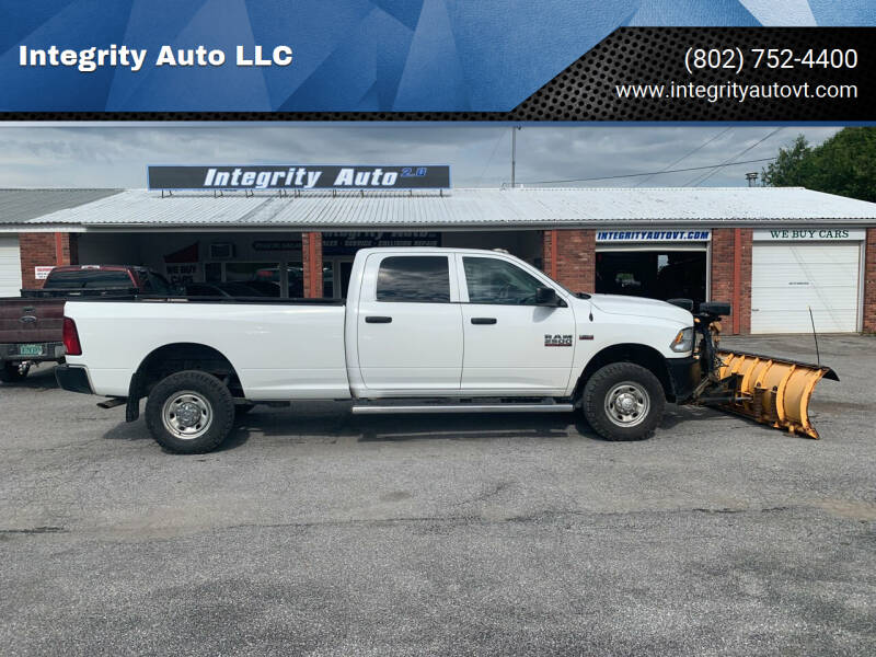 2014 RAM Ram Pickup 2500 for sale at Integrity Auto 2.0 in Saint Albans VT