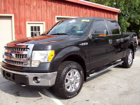 2013 Ford F-150 for sale at Clift Auto Sales in Annville PA
