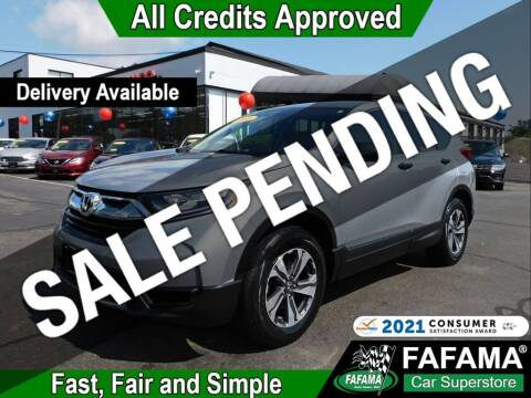 2018 Honda CR-V for sale at FAFAMA AUTO SALES Inc in Milford MA