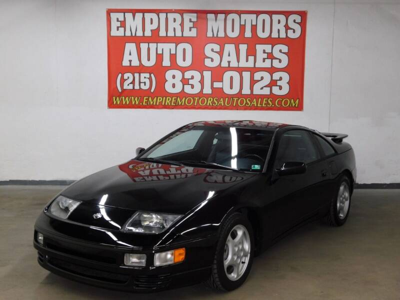 1994 Nissan 300ZX for sale at EMPIRE MOTORS AUTO SALES in Philadelphia PA
