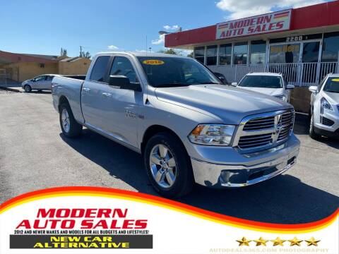 2018 RAM Ram Pickup 1500 for sale at Modern Auto Sales in Hollywood FL