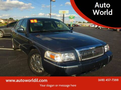 2008 Mercury Grand Marquis for sale at Auto World in Carbondale IL