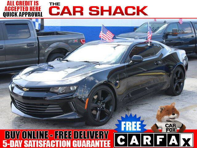 2018 Chevrolet Camaro for sale at The Car Shack in Hialeah FL